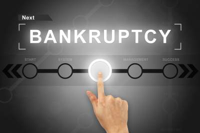 Bankruptcy button