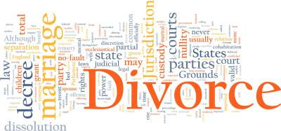 Divorce and bankruptcy